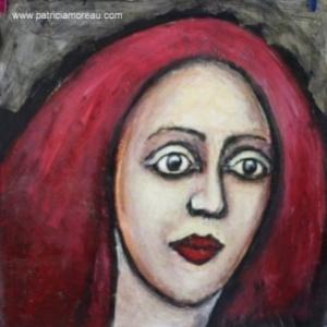 Patricia moreau portrait femme cheveux rouge