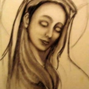 patricia moreau portrait virgin marie