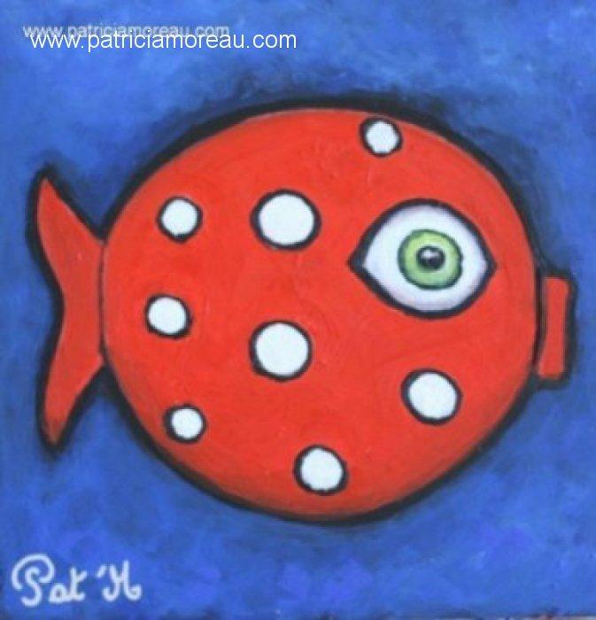Poissoon rouge