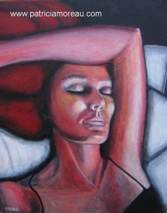 Patricia Moreau - Autoportrait