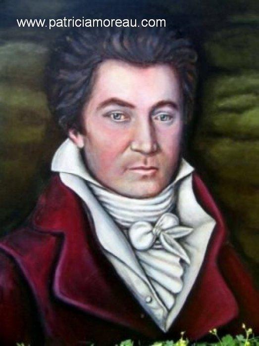 Patricia moreau Portrait of young Ludvig van Bethoven