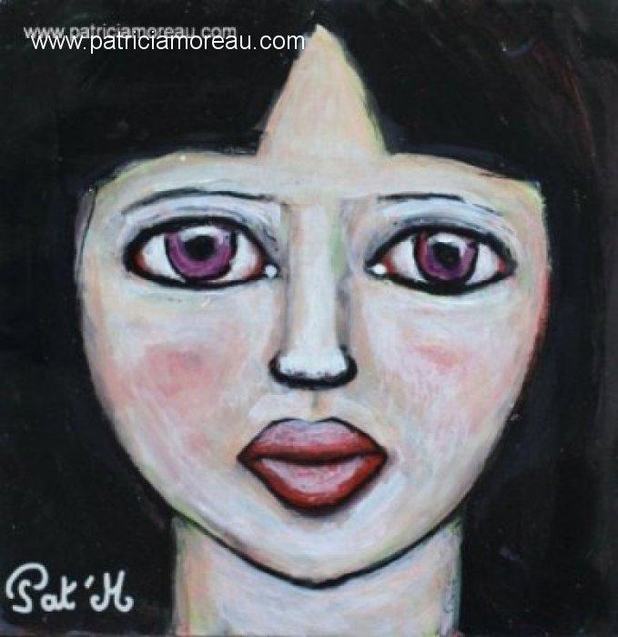 Portrait d\'une fillette