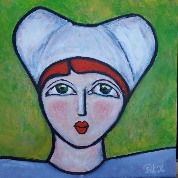 Painting coiffe bretonne